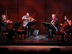 Kronos Quartet Featuring Mahsa Vahdat Performs in Zankel Hall February 8