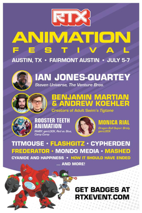 RTX Animation Festival Announces Initial Lineup With Exclusive Panels and Screenings