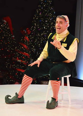 BWW Review: The Gamm's THE SANTALAND DIARIES Is a Snarky Christmas Delight