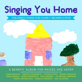 SINGING YOU HOME, featuring Audra McDonald, Lin-Manuel Miranda & More, Reaches #1 on Children's Album Charts!