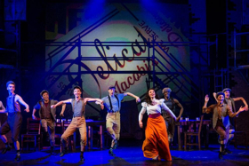 BWW Review: Dinner and a Show- Media Theatre's NEWSIES and Fellini's Café