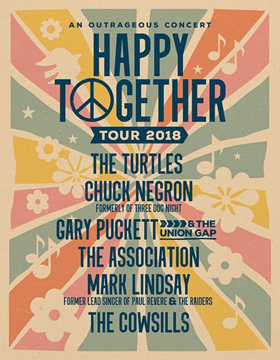 Chuck Negron To Join Happy Together Tour For Fifth Year