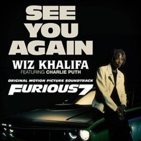 Wiz Khalifa's 'See You Again' Featuring Charlie Puth Receives Diamond Certification