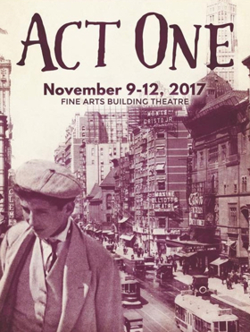 BWW Review: ACT ONE An Epic Theatre Tale Beautifully Told