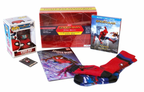 SPIDER-MAN: HOMECOMING Official Suit Being Auctioned for Charity, Plus Limited-Edition Gift Box Now Available at Walmart