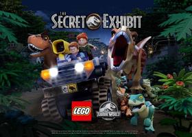 NBC, Universal Brand Development, and LEGO Partnered for LEGO® JURASSIC WORLD: THE SECRET EXHIBIT