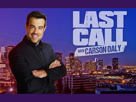 Scoop: Upcoming Guests on LAST CALL WITH CARSON DALY, 11/8-11/16