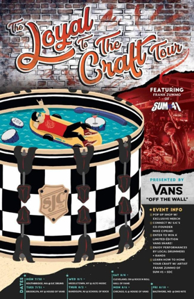 VANS Presents The Loyal to the Craft Tour with Frank Zummo and SJC Drums