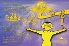 BWW Review: THE BOOK OF LIZ - Different Stages Strikes Comic Gold