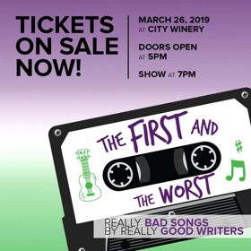 Nashville's City Winery Presents the 5th Annual 'The First And The Worst'