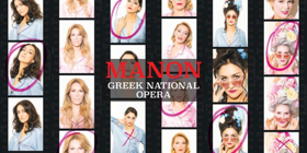 The Greek National Opera Presents MANON This December