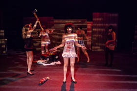 BWW Review: Beware of Office Workers Bearing Chainsaws: THE SECRETARIES at Profile Theatre