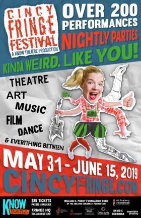 2019 Cincinnati Fringe Festival Kicks Off May 31st