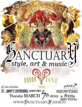 Bobby Love Showcases his Incredible Fantasy Couture Designs at Sanctuary Style, Art & Music