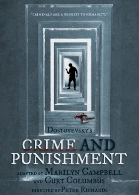 Michael Trevino stars as Raskolnikov in CRIME AND PUNISHMENT at Santa Monica's Edgemar Center for the Arts