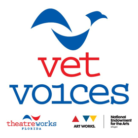 "TheatreWorks Florida Receives 4th $10,000 Grant from the National Endowment for the Arts to Launch ""Vet Voices"""