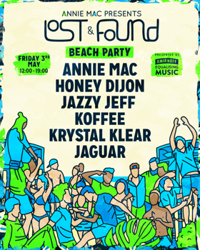 Smirnoff Equalising Music to Present Beach Party Stage at AMP Lost & Found Festival
