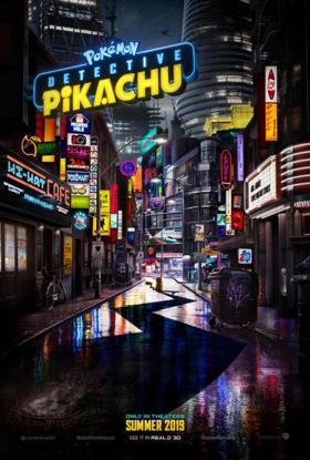 POKEMON DETECTIVE PIKACHU Unveils Film Merchandise