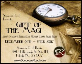 Sonorous Road to Start New Holiday Tradition with THE GIFT OF THE MAGI