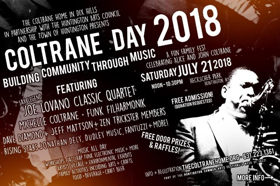 Fourth Annual Coltrane Day Music Celebration Returns to Huntington's Heckscher Park 7/21