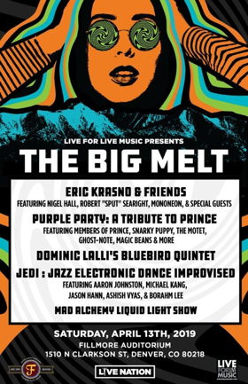 The Big Melt Taps Major Artists, Supergroups For Inaugural One-Day Event In Denver