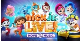 Stifel Theatre Presents NICK JR. LIVE! MOVE TO THE MUSIC