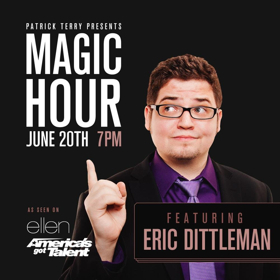 MAGIC HOUR Returns with Mind Reader Eric Dittelman