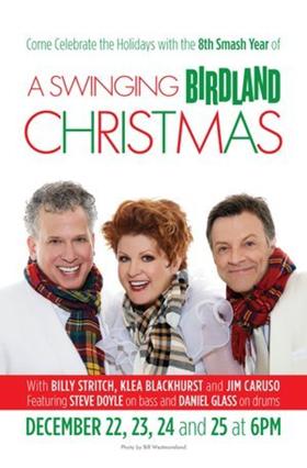 A SWINGIN' BIRDLAND CHRISTMAS and More Set for Week of Dec. 25 at Birdland