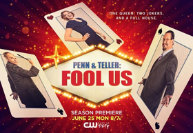 Tune In Alert: PENN & TELLER: FOOL US Season 5 Premieres Monday, June 25 8pm ET on The CW!