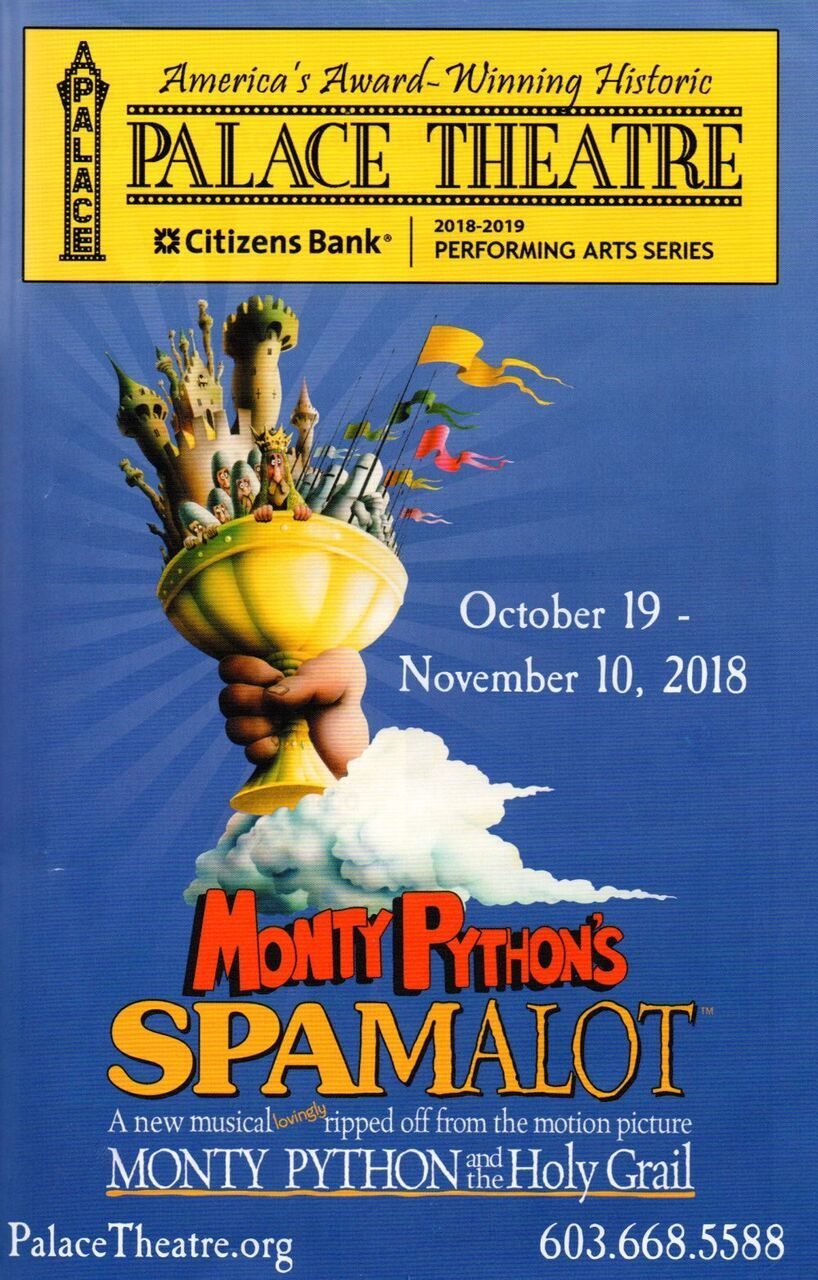BWW Review: SPAMALOT Rolls in the Laughter at Palace Theatre