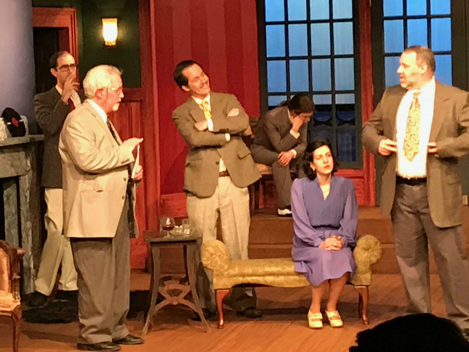 BWW Review: AND THEN THERE WERE NONE Intrigues at Beavercreek Community Theatre
