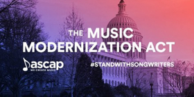 ASCAP CEO Elizabeth Matthews  Releases Statement on Music Modernization Act