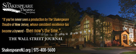 The Shakespeare Theatre Of New Jersey Announces Its 28th Annual Gala