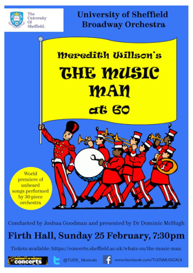 Guest Blog: Dominic McHugh On Presenting Lost Songs From THE MUSIC MAN