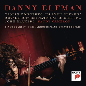 Hollywood Film Composer Danny Elfman Releases First Violin Concerto ELEVEN ELEVEN on Sony Classical