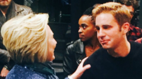 Hillary Rodham-Clinton Stops by Broadway's DEAR EVAN HANSEN