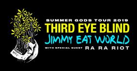 Third Eye Blind and Jimmy Eat World Announce 2019 'Summer Gods Tour'