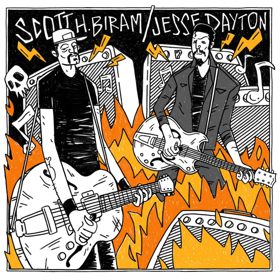 "Scott H. Biram and Jesse Dayton Release Collaborative Covers 7"""