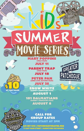 Patchogue Theatre To Launch Kids Summer Movie Series with MARY POPPINS