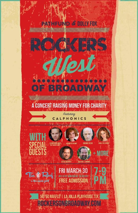 Casting Announced for Rockers WEST of Broadway Concert