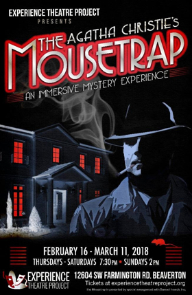 Experience Theatre Project presents Immersive Production of Agatha Christie's THE MOUSETRAP