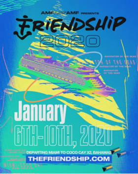 FRIENDSHIP 2020 Music Cruise Pre-Booking On-Sale Launches Wednesday, March 13