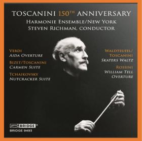 Harmonie Ensemble/New York, Maestro Richman Release 'Toscanini 150th Anniversary Tribute'