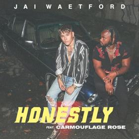 Jai Waetford Releases New Single HONESTLY ft. Carmouflage Rose