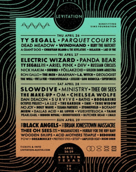 Austin's 2018 Levitation Music Festival Announces Additional Lineup