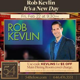 Jennifer Holliday to Join Rob Kevlin at 54 Below