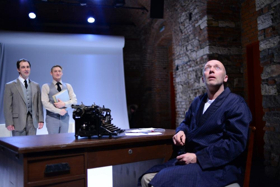 Rehearsal for Truth Theater Festival Honoring Vaclav Havel Presents PROTEST/DEBT