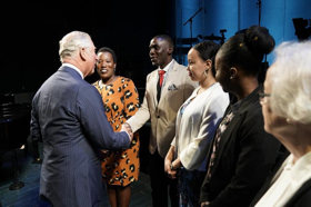 His Royal Highness The Prince Of Wales Visits The Old Vic To Mark Its Birthday