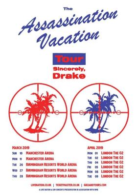 Drake Announces the 'ASSASSINATION VACATION TOUR'