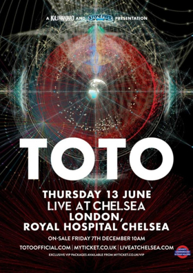 Toto Announced As One Of First Artists To Perform Live At Chelsea Concert Series 2019